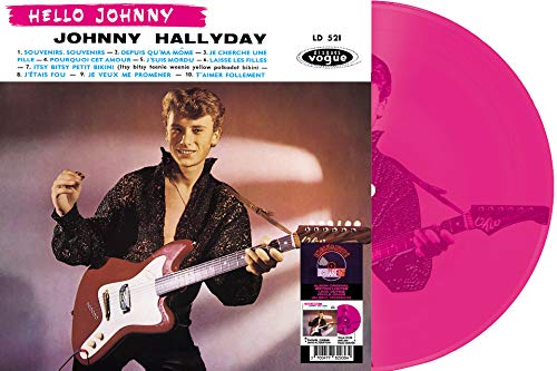 Hello Johnny-LP 30cm Etched Noir [Import]