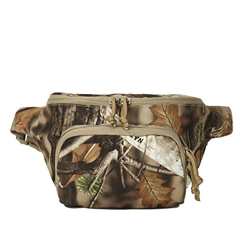 Hunting Camo Fanny Pack Camouflage Waist Bag for Hunters Waterproof