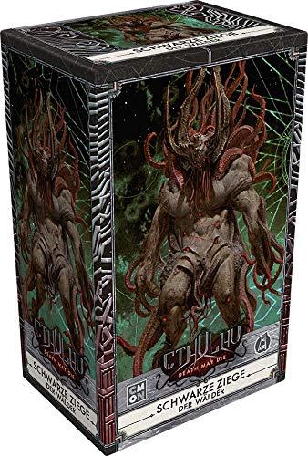 Asmodee Cthulhu: Death May Die - Schwarze Ziege der Wälder, Erweiterung, Expertenspiel, Dungeon Crawler, Deutsch