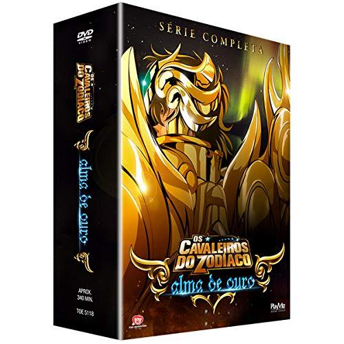 Os Cavaleiros do Zodíaco - Alma de Ouro - Série Completa -DVD