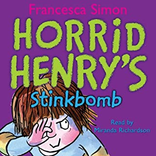 Horrid henry robs the bank audiobook francesca simon audible horrid henrys stinkbomb expocarfo Choice Image