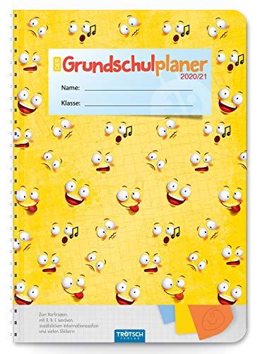 Trötsch Schulplaner Grundschulplaner Smile 2020/2021: Schülerkalender, Timer, Terminkalender, Hausaufgabenheft