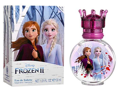 Frozen II Eau de Toilette Natural Spray, Anna & Elsa Parfüm, 100ml
