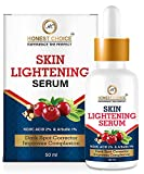 HONEST CHOICE Skin Lightening Whitening Brightening And Intimate Serum With Kojic Acid And Vitamin C For Body, Face, Neck, Bikini, Sensitive Areas And All Skin Types Dark Spot (50)