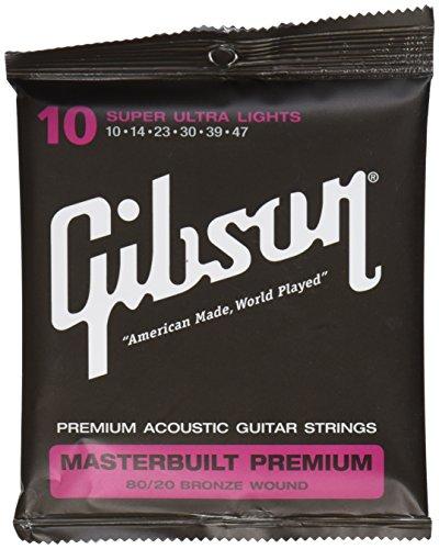 Gibson Gear SAG-BRS10 Masterbuilt Premium 8020 Messingsaiten.010-.047