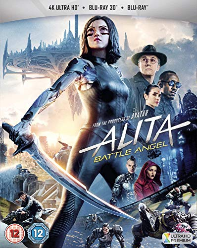 Alita: Battle Angel [Blu-Ray]+[Blu-Ray 3D] [Region Free] (Deutsche Sprache. Deutsche Untertitel)