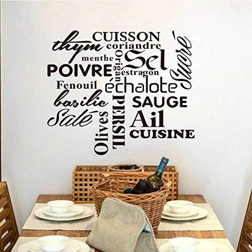 Preisvergleich Produktbild ZXFMT Wandaufkleber Vinyl Wandaufkleber Aufkleber Removable Wandkunst Tapete Küche Fliesen Wohnkultur Haus Dekoration