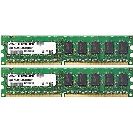 2GB DDR2-400 NC996UC#ABA PC2-3200 ECC RAM Memory Upgrade for the Compaq HP Workstation 4600 Series xw4600