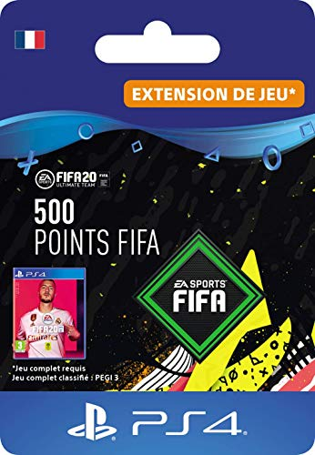 FIFA 20 Ultimate Team - 500 FIFA Points DLC - Code Jeu PS4 - Compte français