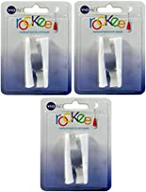 Pack of 3 Violife 2TB Rockee Replacement Toothbrush Heads White 2 Count 819243010642