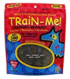 Crazy Dog Train-Me! Bacon Mini Training Reward Treats (1 Pouch), 10 Oz