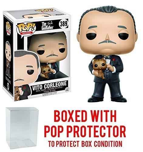 Funko Pop! Movies: Godfather - Don Vito Corleone Vinyl Figure (Bundled with Pop Box Protector Case)