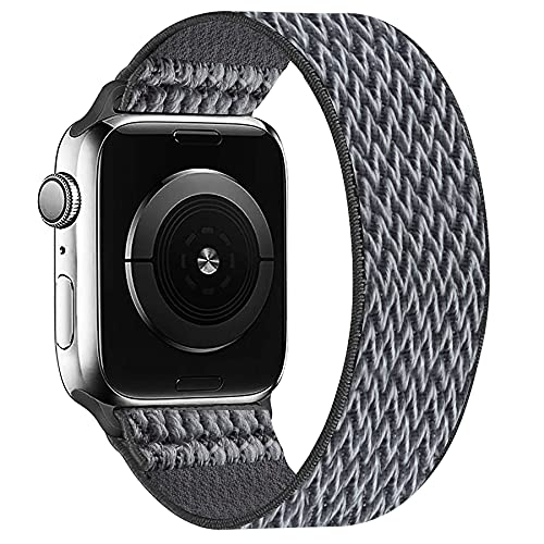 OHCBOOGIE Elastic Nylon Solo Loop Strap Compatible with Apple Watch...
