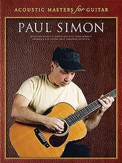 Paul Simon - Acoustic Masters for Guitar: Guitar Tab