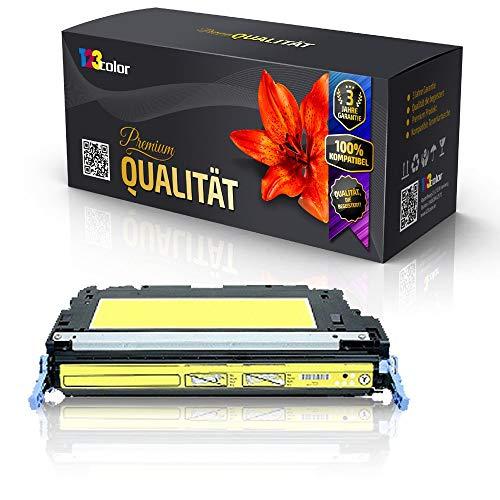 Print-Klex Alternative Tonerkartusche für HP Color LaserJet 3600 Color LaserJet 3600 DN Color LaserJet 3600 N Color LaserJet 3600 Series Q6472A Q-6472 Yellow Gelb