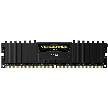 Corsair Vengeance LPX - Memoria interna de 16 GB (1 x 16 GB), 2666Mhz, DDR4, Negro