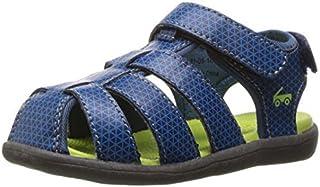 See Kai Run Boys' Cyrus Water Shoe Navy 13 M US Little Kid [並行輸入品]