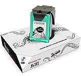 Squuido Remanufactured Cartucho de Tinta 351XL 351 XL Tricolor Compatible con HP Photosmart C4280 C4340 C4380 C4480 C4485 C4580 C4585 C5280 D5360 Deskjet D4260 D4360 Officejet J6424 J5780 J5785