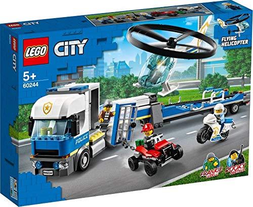 wow Lego® City 60244 - Helicóptero de policía