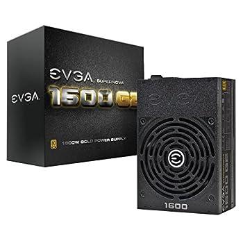EVGA SuperNOVA 1600 G2 80+ GOLD 1600W Fully Modular NVIDIA SLI and Crossfire Ready 10 Year Warranty Power Supply 120-G2-1600-X1