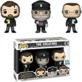 Jokoy Funko Pop Icons : Game of Thrones - The Creators (3 Pack) 2018 Fall Convention Shared Exclusive 3.75inch Vinyl Gift for Fantasy Fans Chibi