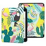 Colorful Star Funda fina para Kindle Paperwhite de 10ª generación de Kindle Paperwhite (poliuretano), diseño de cactus y pájaros