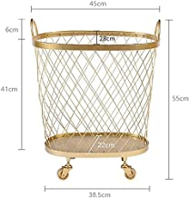 Multifunctional storage dirty clothes basket, dirt Laundry basket Laundry basket Nordic wrought iron Kitchen/toy/clothing storage basket Home Bathroom laundry basket Dirty basket home Toy clothes stor