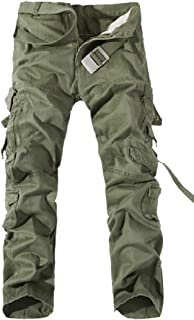 Mogogo Mens Big Pockets Oversize Cargo Pants Outdoor Cargo Pants