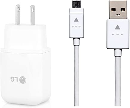 Genuine LG Quick Wall Charger + Micro USB Cable for LG G3...