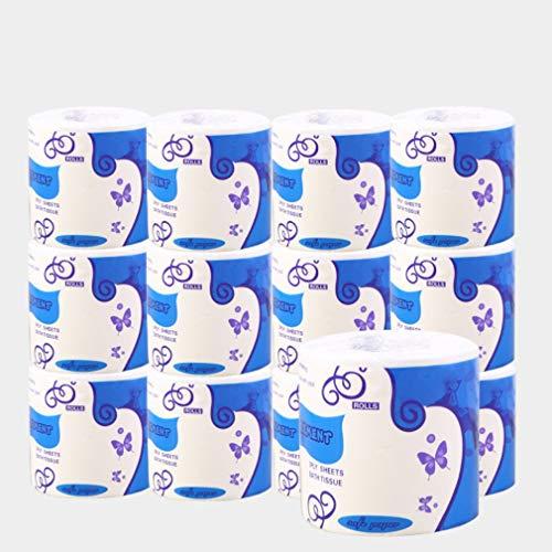 2 rollen Standaard 3-laags toiletpapier Bulkrollen Badweefsel Huishouden