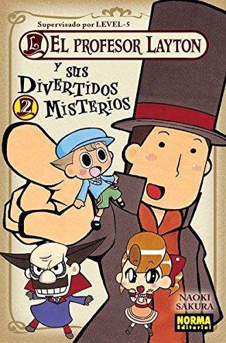 EL PROFESOR LAYTON VOL. 02 Y SUS MISTERIOS (CÓMIC MANGA)