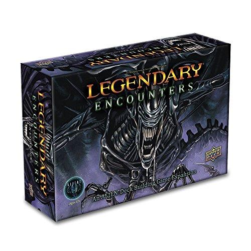 ADC Blackfire Entertainment UD86118 - Legendary Encounters: An Alien Deck Building Game Erweiterung - Englisch, Kartenspiel