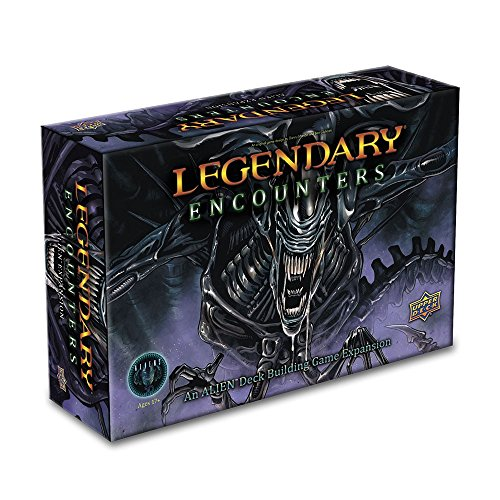 ADC Blackfire Entertainment UD86118 - Legendary Encounters: An Alien Deck Building Game Erweiterung - Englisch, Kartenspiel