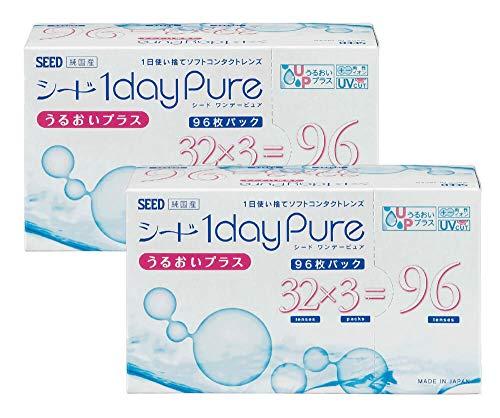ワンデーピュアうるおいプラス 96枚入り 2箱セット 【BC】8.8 【PWR】-3.00