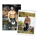 Uomini in Kilts Calendario 2021 A3