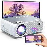 "Bomaker Proyector WiFi Full HD 1080p, Proyector Portátil 300"" Duplicar Pantalla Mini Proyector Inalámbrico 720p Nativo Cine en Casa para Android/Phone Smartphone,HDMI/USB/VGA/AV/SD GC355"