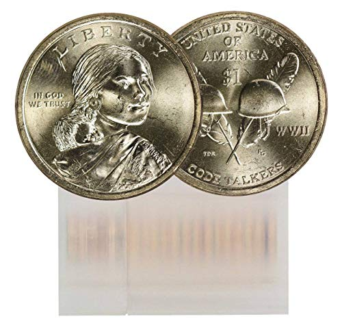2016 P Sacagawea 25-Coin Dollar Roll BU