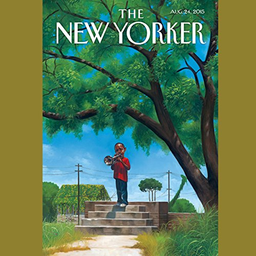 The New Yorker, August 24th 2015 (Elizabeth Kolbert, Malcolm Gladwell, Sarah M. Broom) cover art