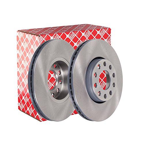 Preisvergleich Produktbild febi bilstein 28505 Bremsscheibensatz (2 Bremsscheiben) vorne,  innenbelüftet,  Lochanzahl 5