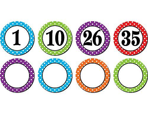magnetic calendar numbers - 5