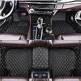 Alfombrillas de cuero para coche, para Mercedes Benz Clase C C160 C180 C200 C220 C300 C350, Custom Boot Mat Interior Car styling negro beige