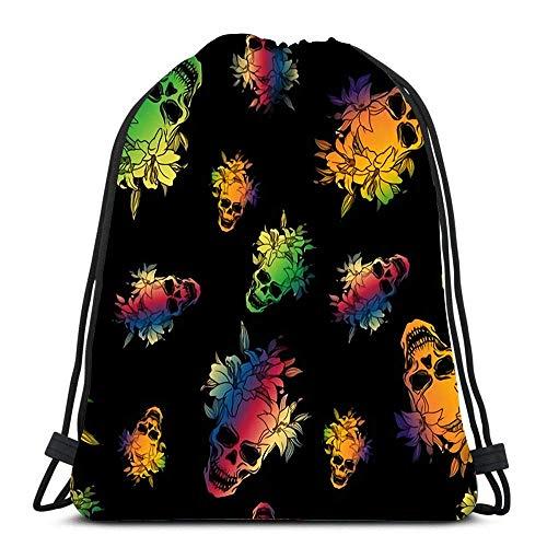 JDHFJ Bolsa cordón Drawstring Backpack