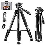 Best Camera Tripods - KINGJUE 66 inch Camera Tripod for Canon Nikon Review