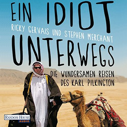 Ein Idiot unterwegs audiobook cover art