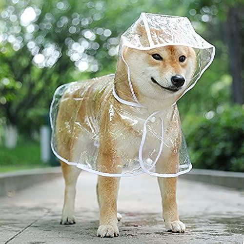 NC Cucciolo Impermeabile Impermeabile Teddy Cane di Taglia Media Poncho per Animali Domestici Abbigliamento da Giorno di Pioggia all Inclusive...