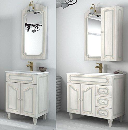 Arredo Bagno Mobile arte povera misurA 90 cm lavabo ceramica Mobili decapè I