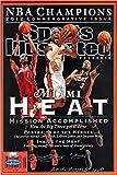 Lebron James, Dwyane Wade, and Chris Bosh Sports Illustrated Autograph Replica Super Print - Miami Heat - Championship Comm - Miami Heat - 2012 - Unframed