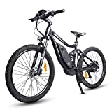 ECOTRICPowerful Electric Bike 750W Motor 48V/12AH Battery W/Aluminum Suspension Frame & Fork...