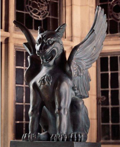 Artistic Solutions 18' Classic Majestic Griffin Lion Eagle Statue Sculpture Figurine