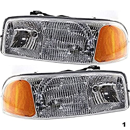 07 gmc sierra classic headlights - 4